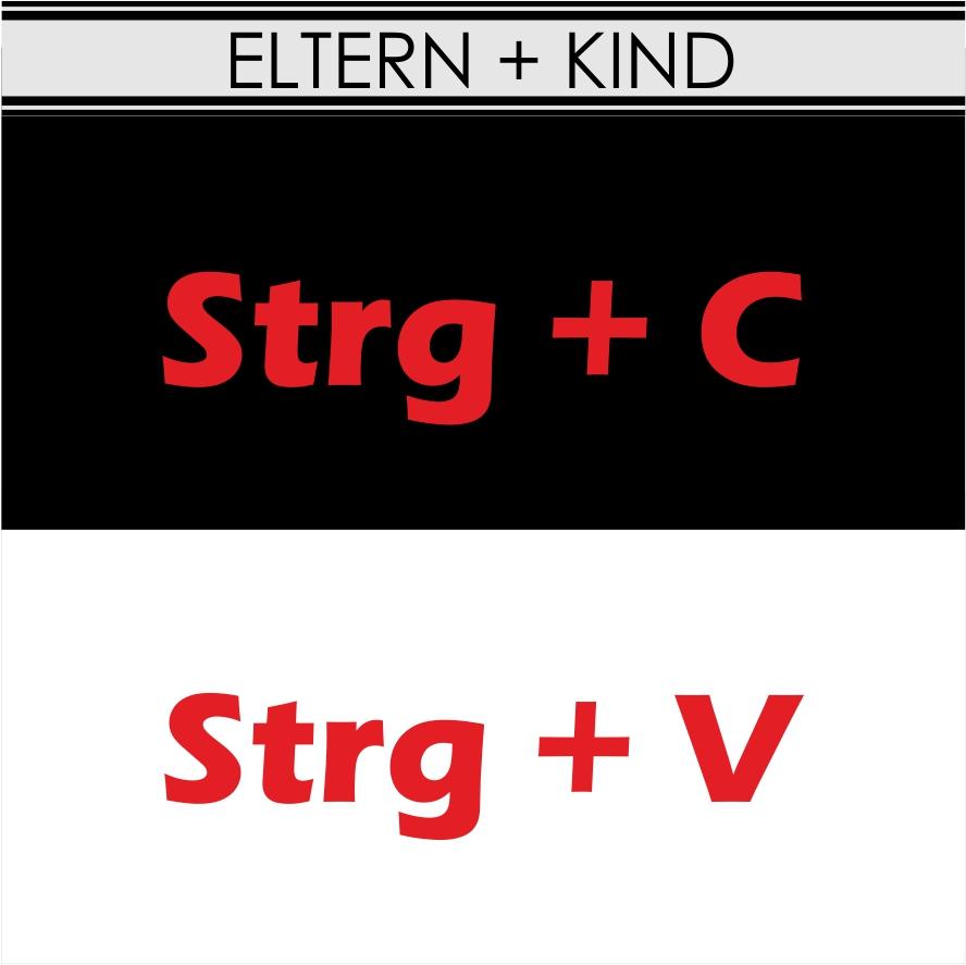 PARTNERSHIRT eltern kind-strg c strg v
