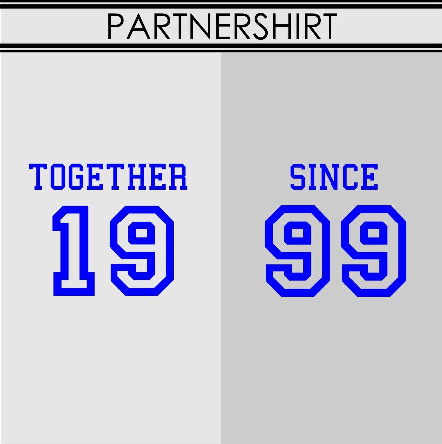 PARTNERSHIRT together since