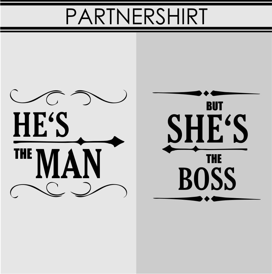 PARTNERSHIRThes the man shes the boss