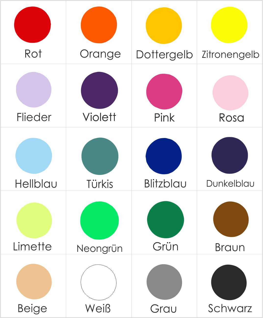 soulgoods 187 druckfolien farben